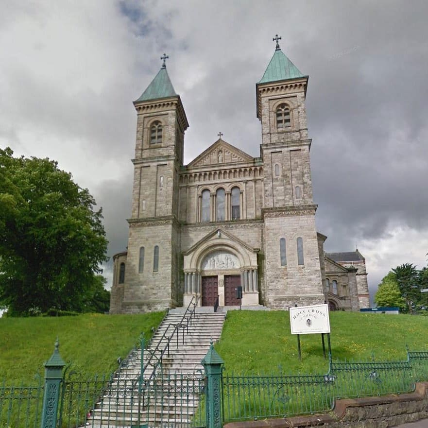 10 hilarious Google reviews of cathedrals and churches in Ireland include one of Holy Cross Catholic Church in Belfast