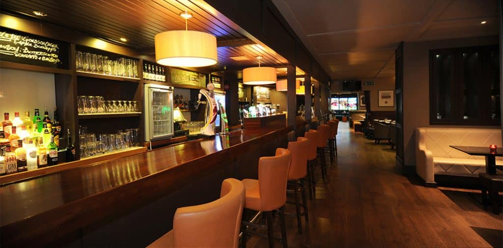 At stop two on our Dublin ale trail is Horse Show House, an atmospheric local pub you'll love.