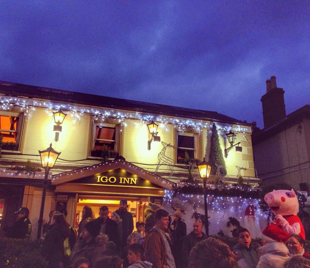 The Igo Inn is a much-loved pub along the Southbound DART route, stop number seven on our journey.