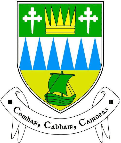 Facts about Kerry include the meaning of its crest motto