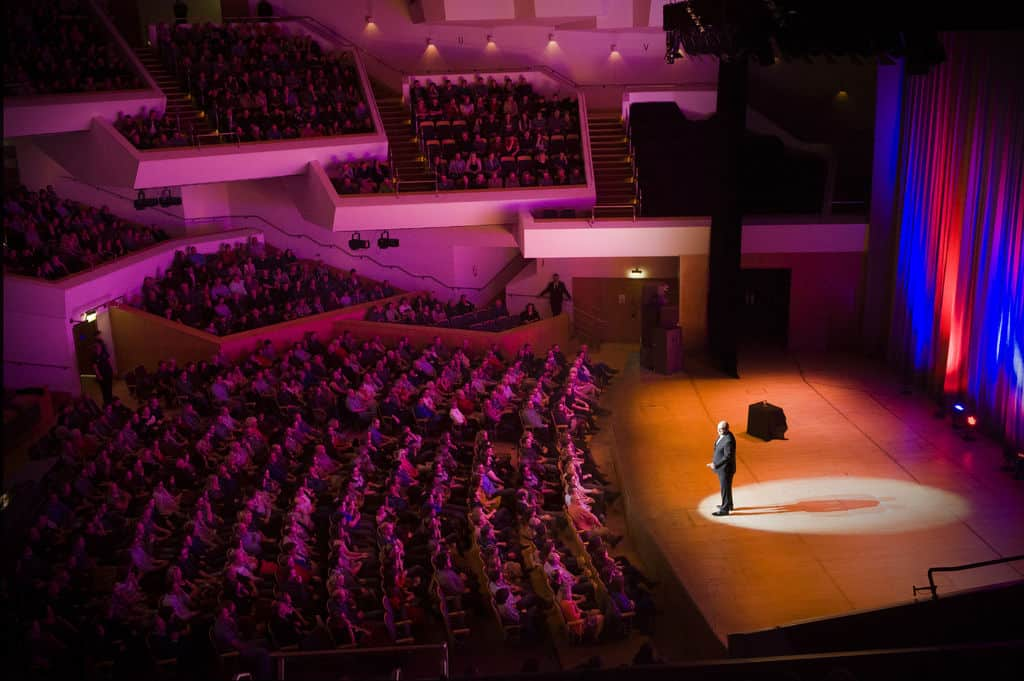 Waterfront Hall is one of the 5 most beautiful theatres in Ireland