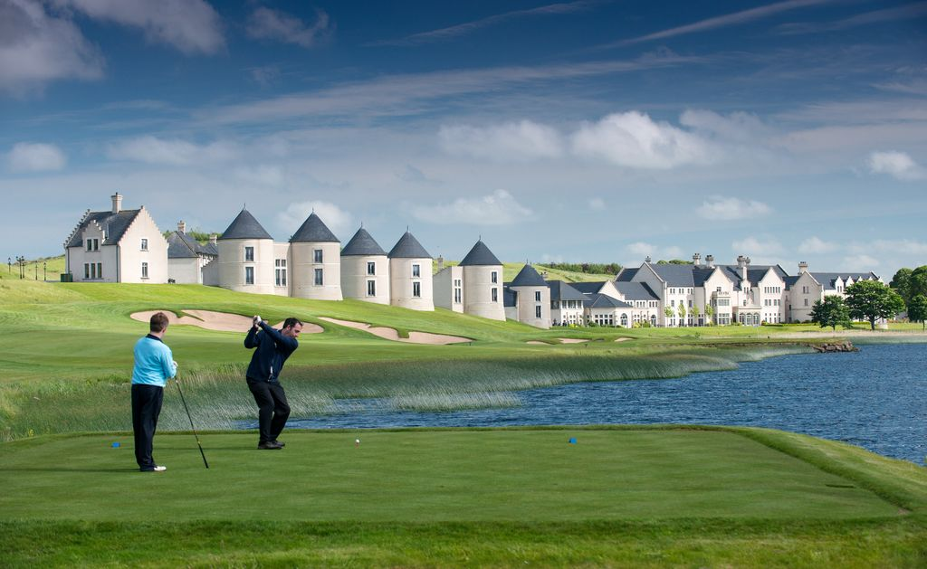 Reasons to visit the Lough Erne Resort include its world-class golf resort