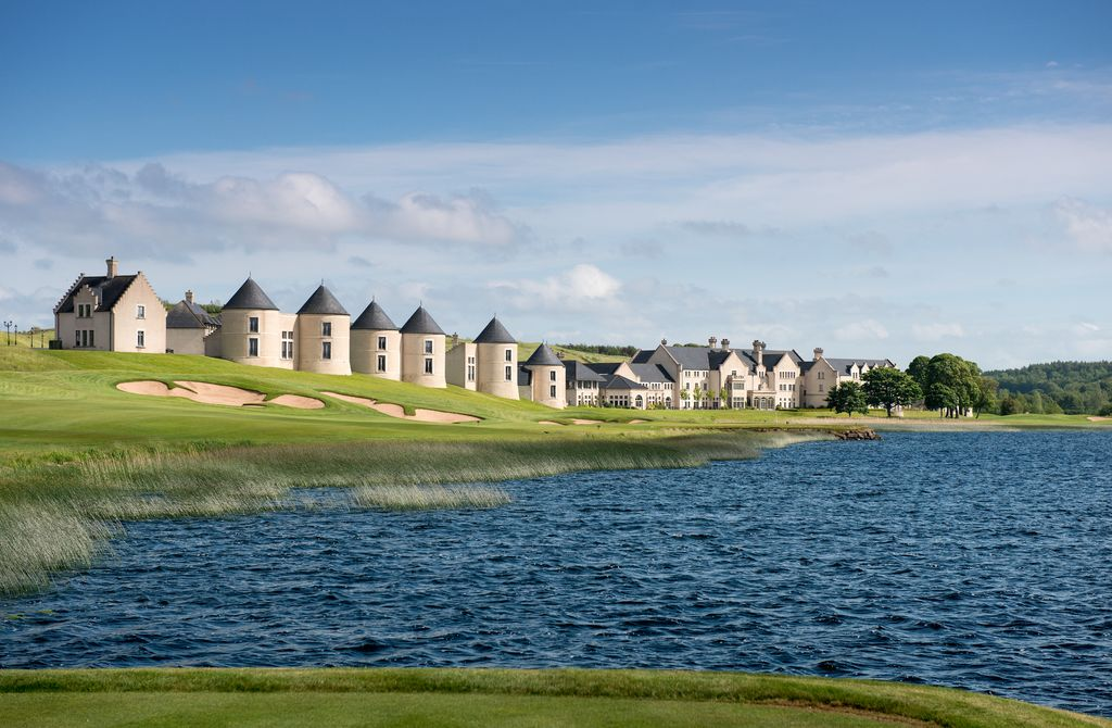 Lough Erne Resort is one of the best hotels with incredible views in Ireland.