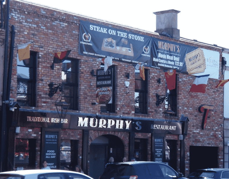 Murphy's Bar is one of the 5 best places for a pint of Guinness in County Down