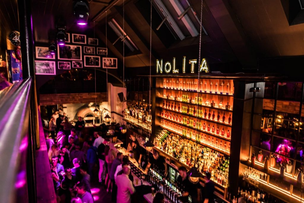 NoLIta is an amazing place to grab a drink and one of the snazziest bars in Ireland.