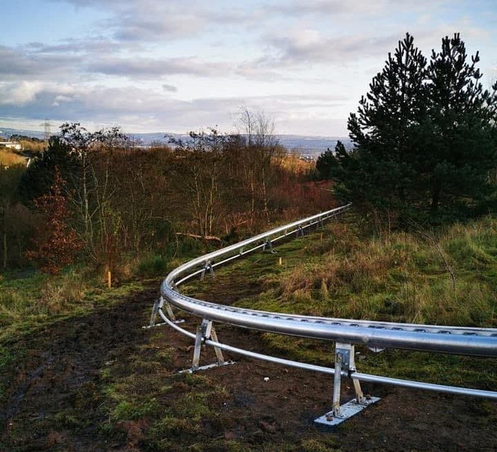 Ireland's first alpine roller coaster is set to open this spring.