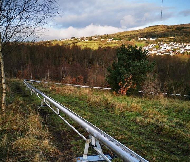 Ireland's first alpine roller coaster is set to open in May 2021.
