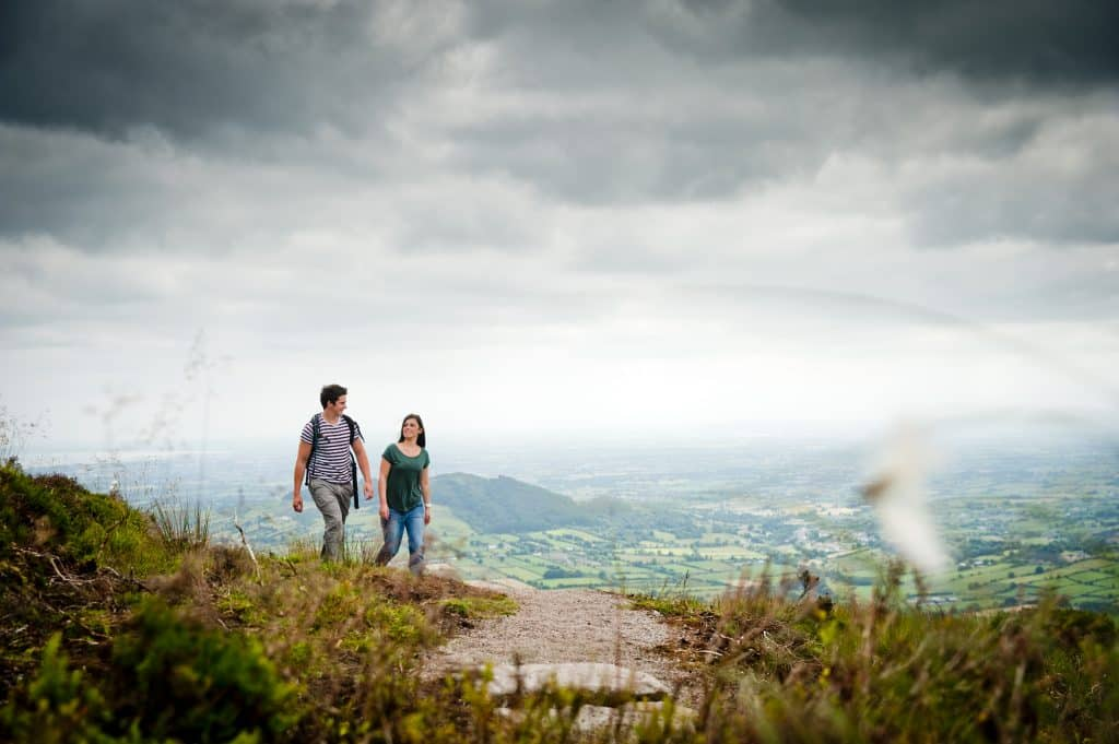 Slieve Gullion offers beautiful mountain ranges, the best in Armagh.