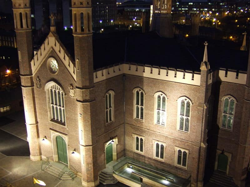 10 hilarious Google reviews of cathedrals and churches in Ireland include one of St. Malachy's Church in Belfast