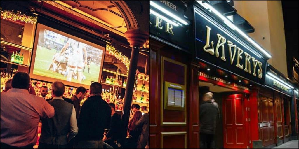 Top 5 bars for live sports in Belfast