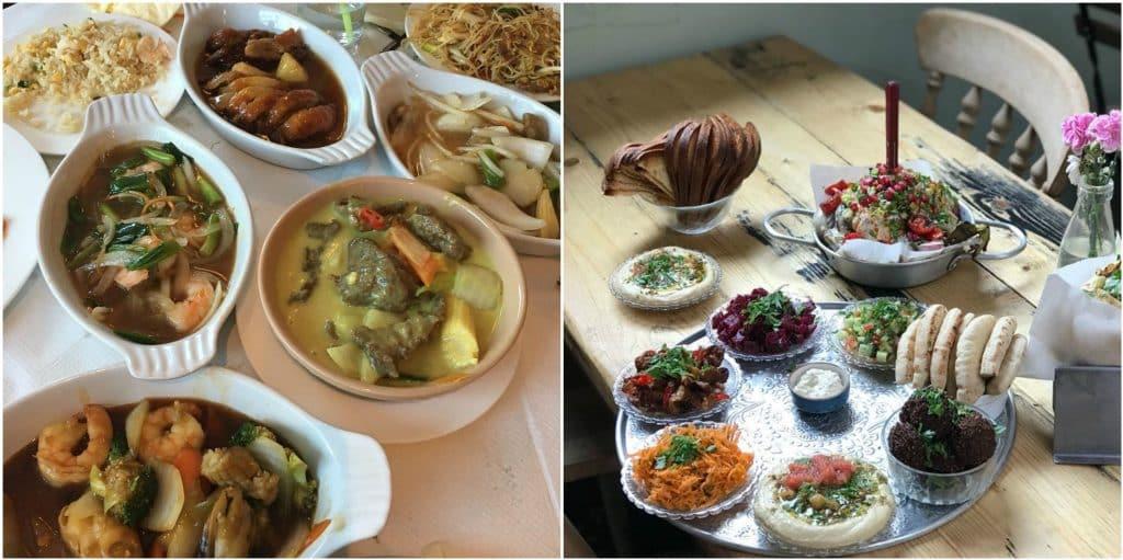 Top buffet restaurants in Dublin