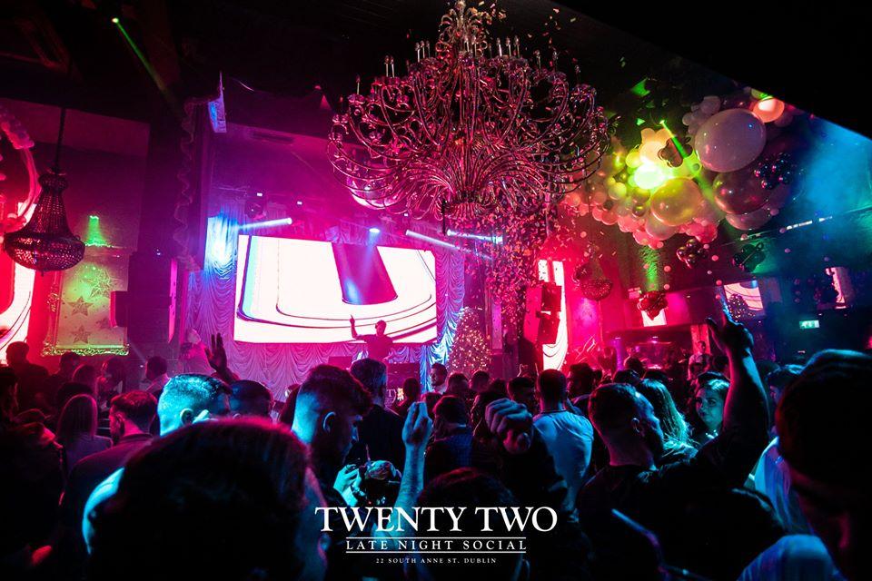 Twenty Two is a well-known Dublin nightclub