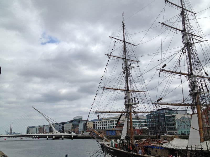 The Jeanie Johnston ship is on our Dublin bucket list of 25 things to see and do in Dublin