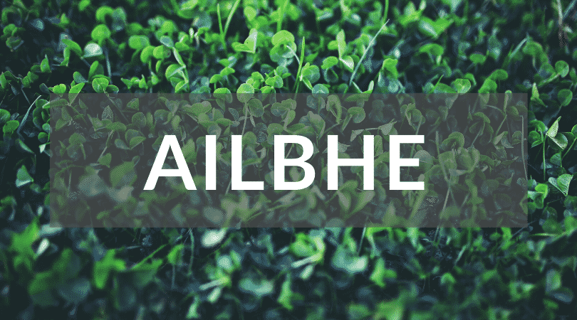 Ailbhe is one of the top 10 Irish girl names nobody can pronounce.