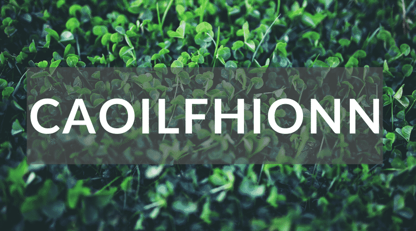 Caoilfhionn is a beautiful name but another of our top Irish girl names nobody can pronounce.