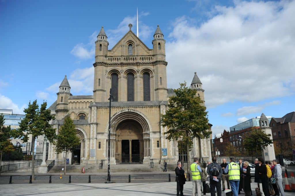 St. Anne's Cathedral could be partially blocked by new buildings