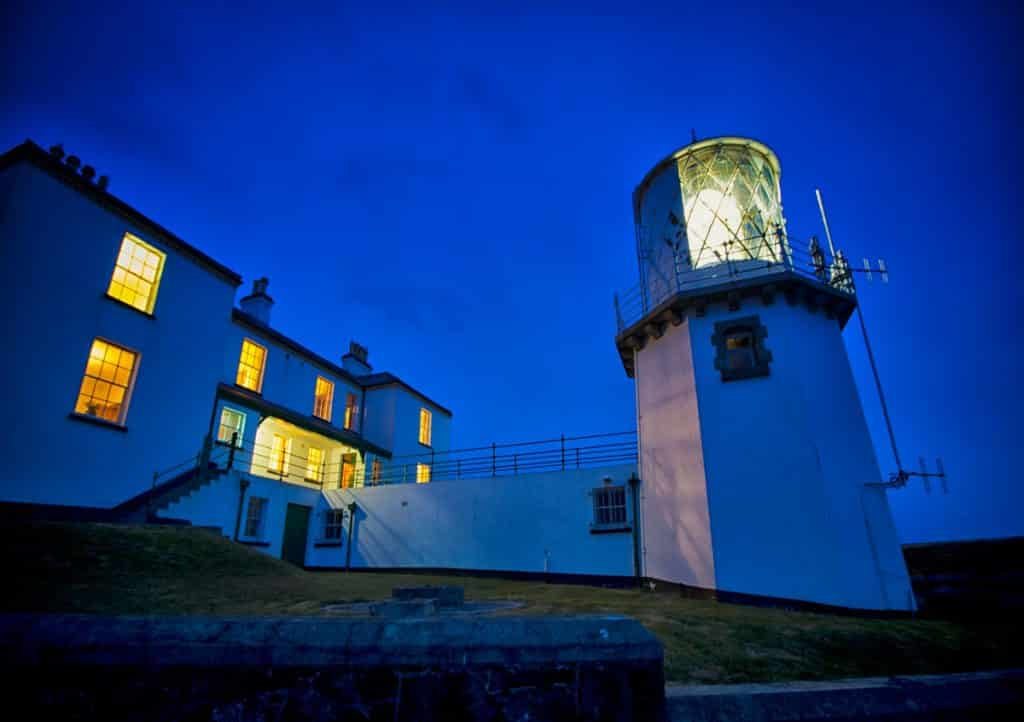 10 unique and unusual attractions in Northern Ireland include Blackhead Lighthouse