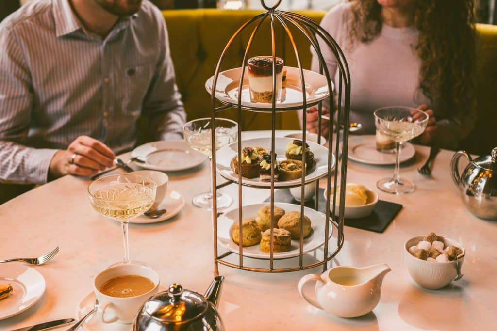 Top 10 places for afternoon tea in Belfast include Cafe Parisien