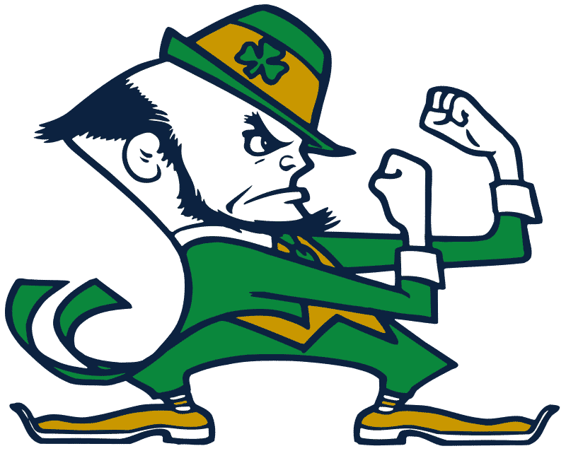 The Notre Dame American college football team has Irish origins