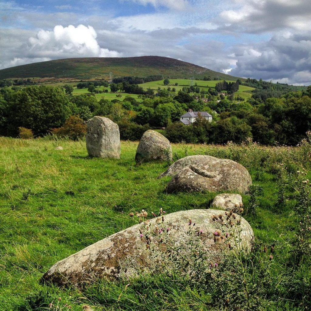 Athgreany Stone Circle is one of the top 5 ancient stone circles in Ireland you need to visit