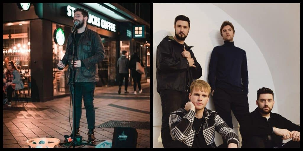Belfast busker's viral Kodaline cover prompts invitation from band