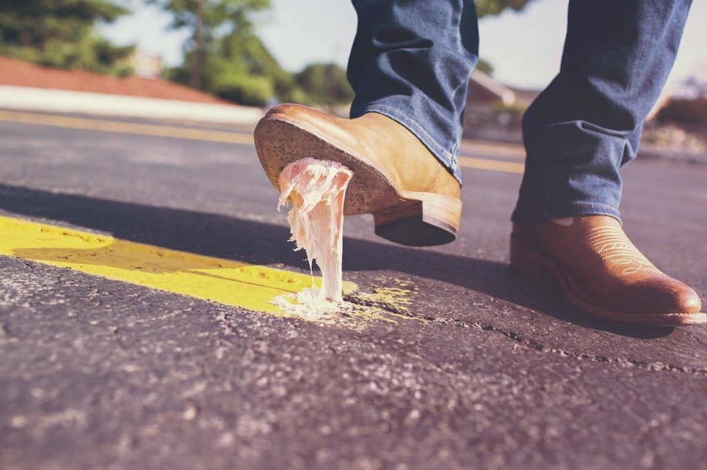 Chewing gum, sweet wrappers, and cigarette butts are the worst culprits for litter, but Killkenny was named the cleanest town in Ireland thanks to its reduction of these items.