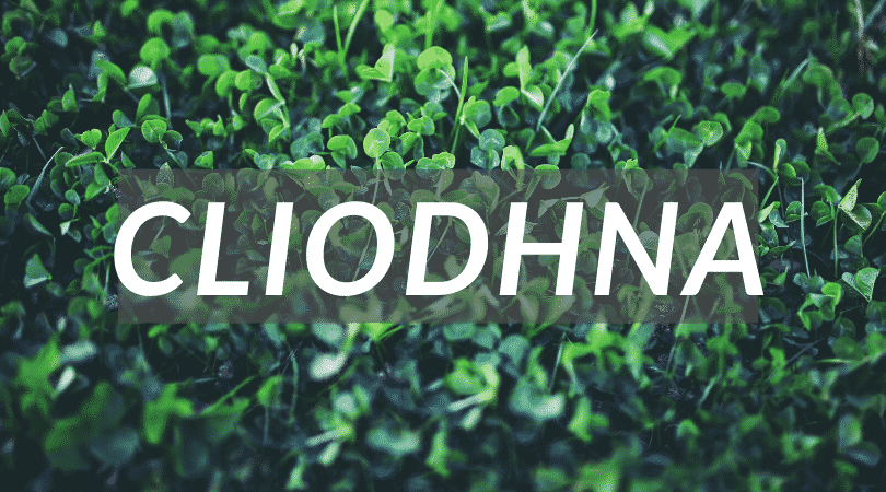 Cliodhna is a name steeped in Irish mythology, it's magical and beautiful, another unusual Irish girl name.