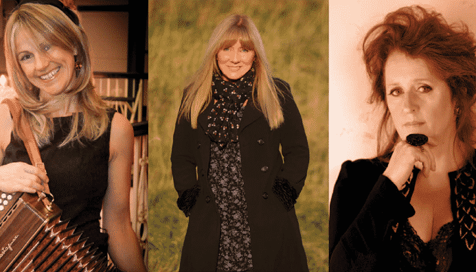 Sharon Shannon, Mary Coughlan and Frances Black will perform in concert