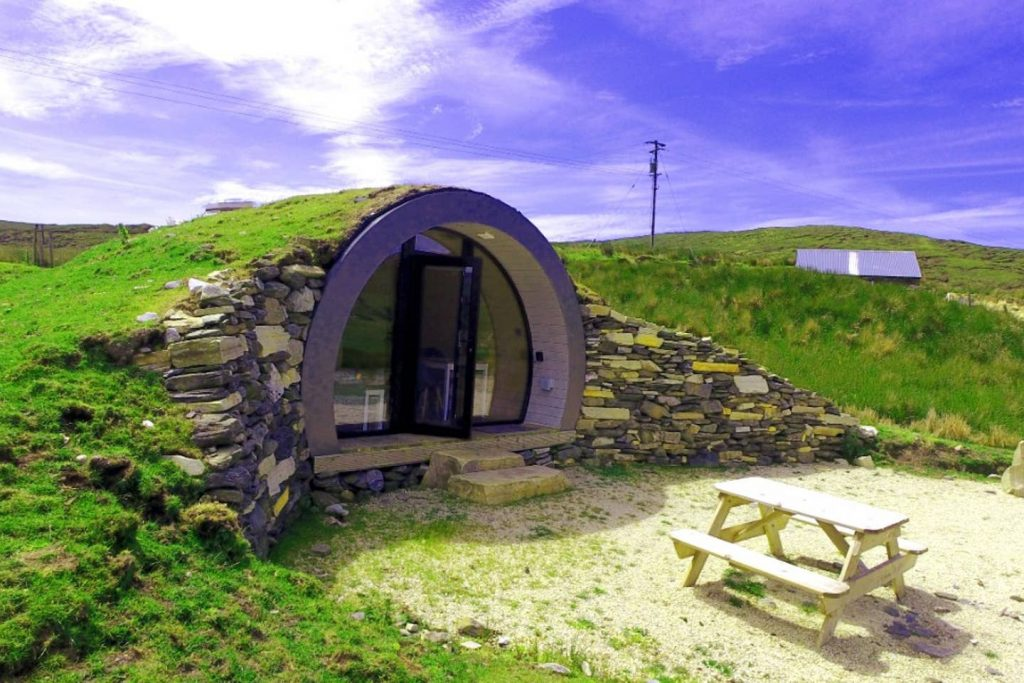 5 places in Ireland that Lord of the Rings fans will love include the Hobbit Hill pod in Donegal