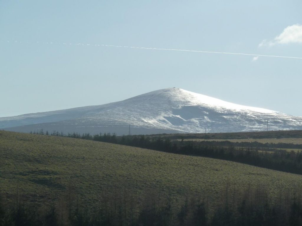 Djouce Mountain is part of the Wicklow Mountains
