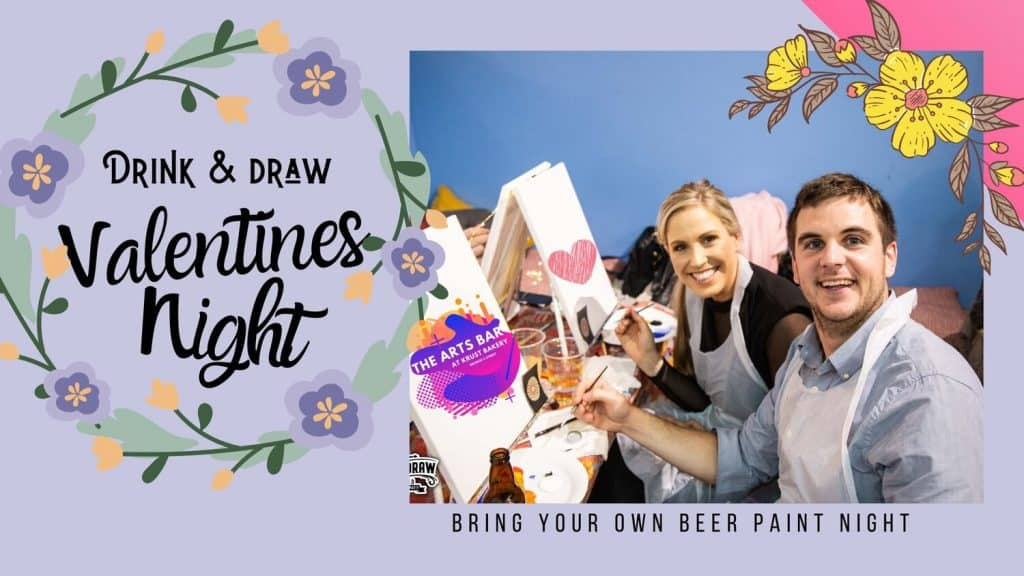 Valentine's Day events in Ireland this year include Drink & Draw in Dublin