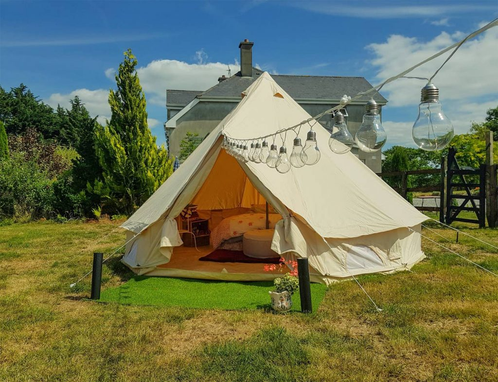 5 unique Airbnbs in County Tipperary include this tipi in Dromineer