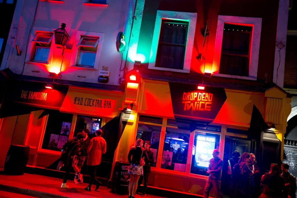 Drop Dead Twice is one of the top Dublin nightlife options if looking a night out.