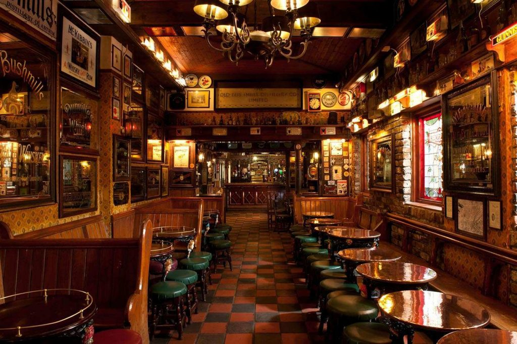The Duke of York is another of the best old and authentic bars in Belfast, for the vintage-lovers out there.