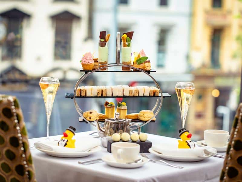 Top 10 places for afternoon tea in Belfast include Europa Hotel