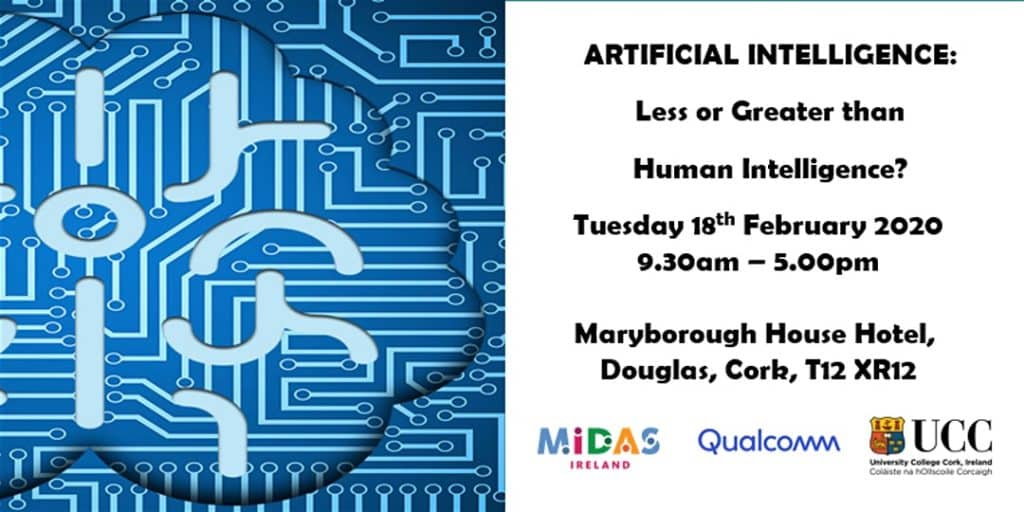 Live events in Cork this February include an artificial intelligence debate