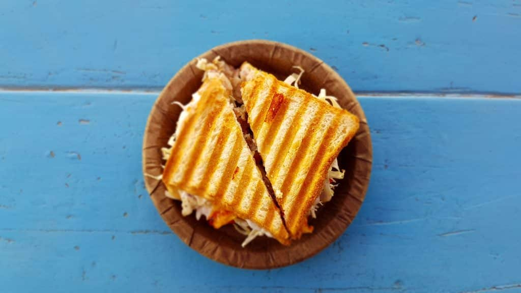 It might be odd to see grilled cheese in a review of Bunsen, a place known for their burger, but they also offer a vegetarian alternative to their menu.