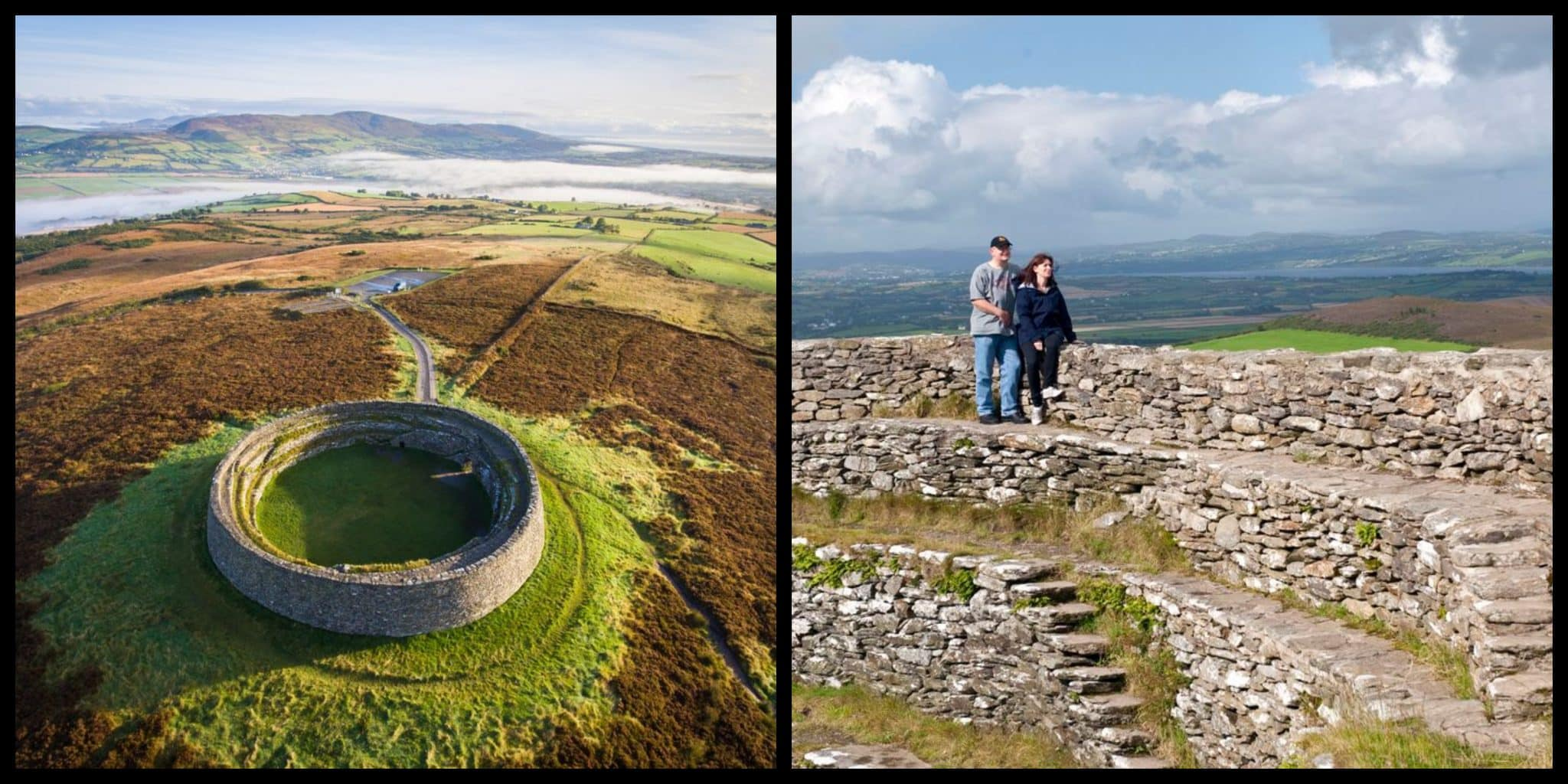 Grianan Of Aileach ~ Ancient Ireland