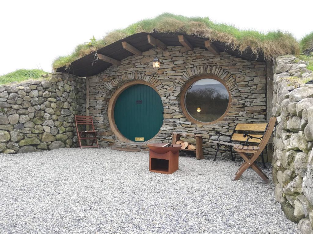 You can stay at Hobbit huts in Mayo and feel like you're in the Shire