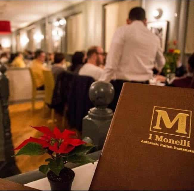 I Monelli offers some of the best Italian food in the capital of Ireland