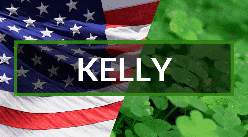 Kelly, another Irish surname you'll commonly hear in America, makes our top 10 list.