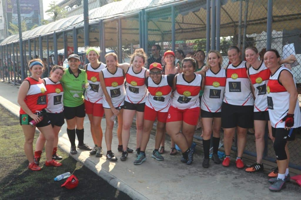 Jakarta Dragonflies are one of the most successful GAA clubs outside Ireland, based in Indonesia.