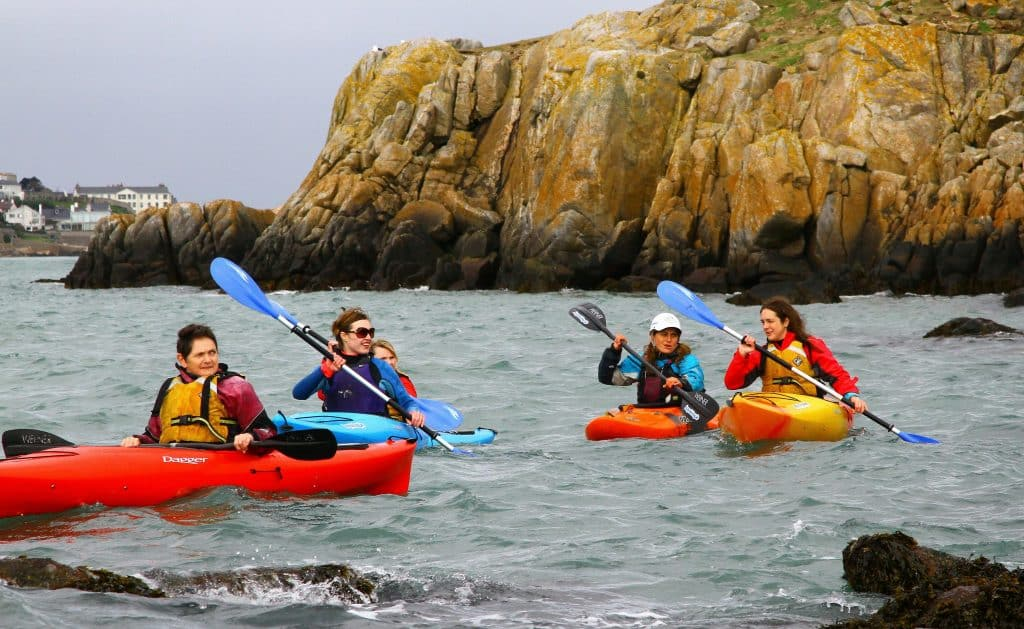 Kayaking to Dalkey Island is one of the best water experiences to try this summer in Dublin.