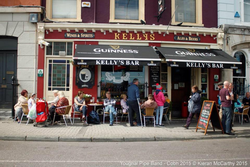 Kelly's Bar may be the most popular watering hole in Cobh