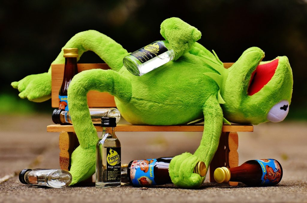 Irish slang words and phrases that describe being drunk include 'plastered'