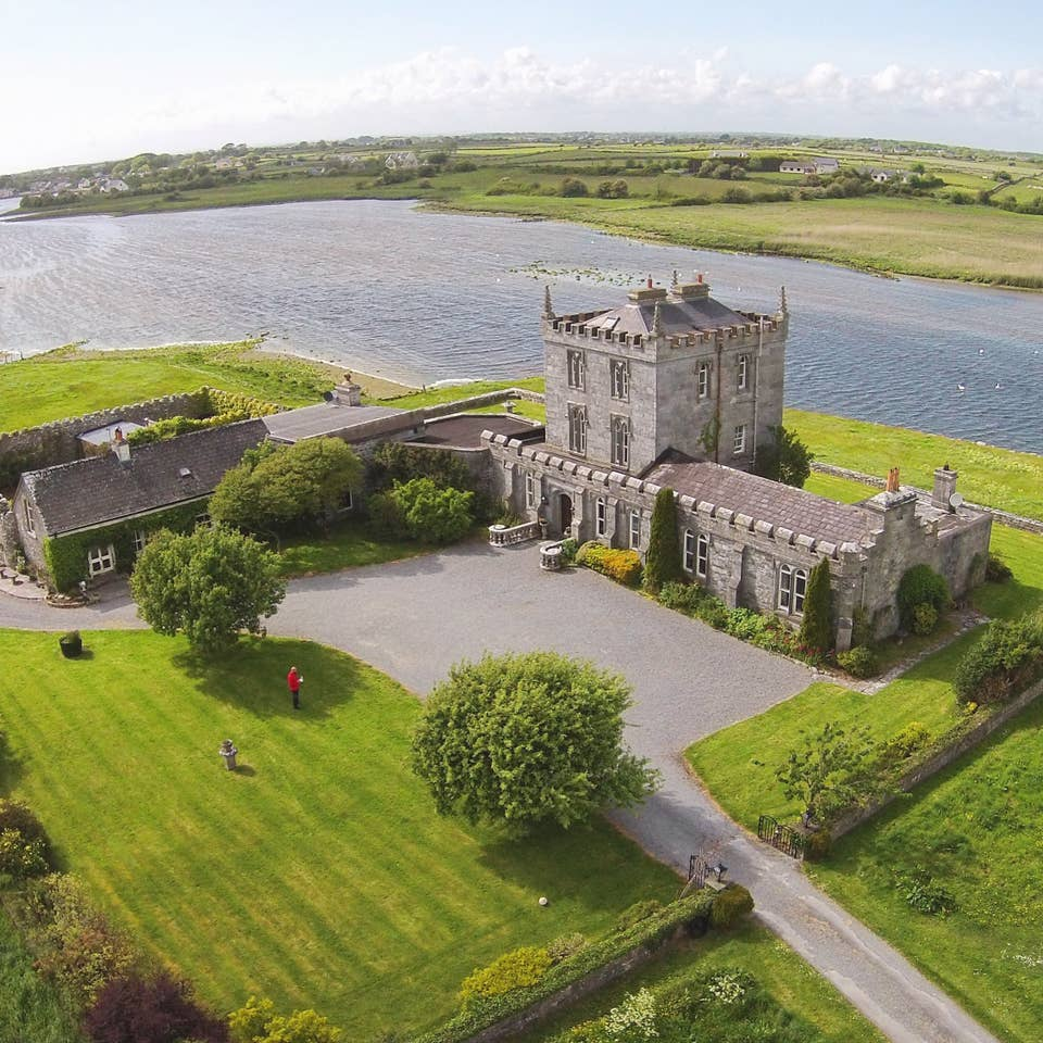 Kilcolgan Castle is a unique place to stay in Ireland