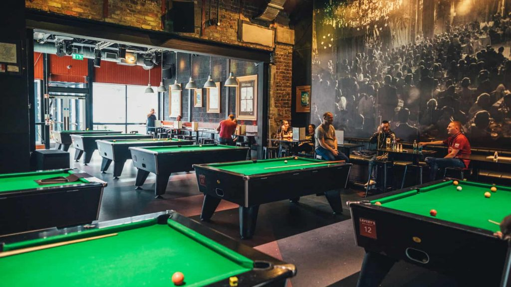 Lavery is one of the top 10 old and authentic bars in Belfast you need to visit, stop to play some pool.