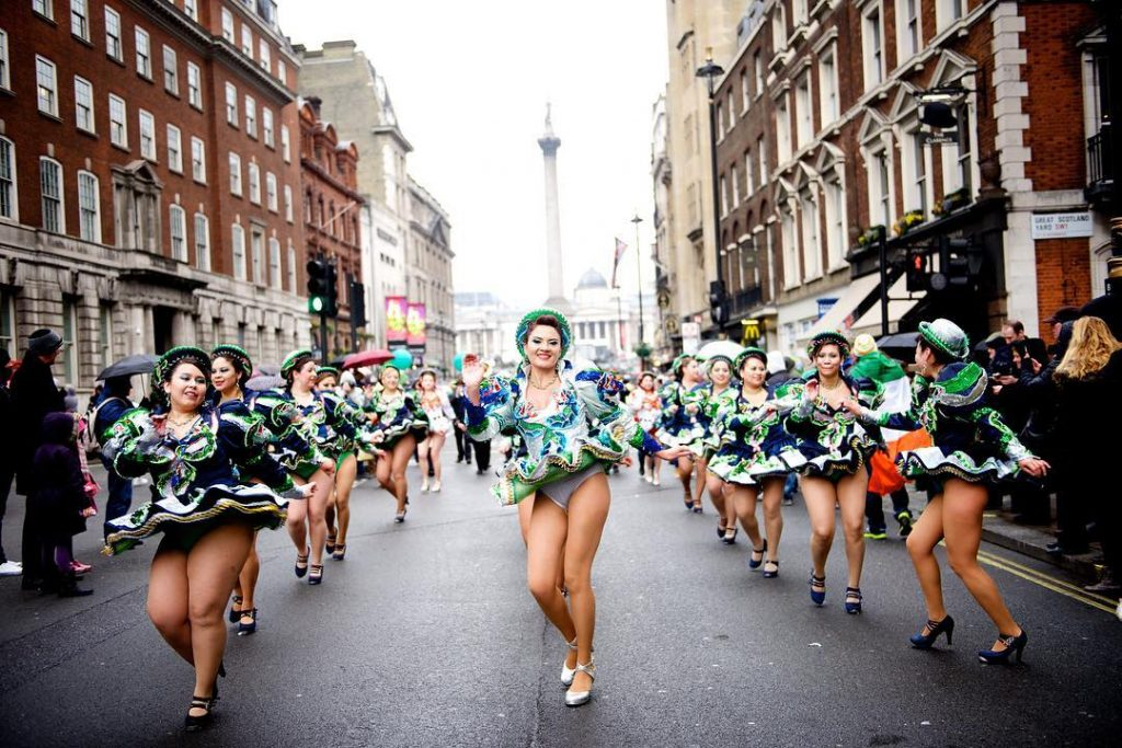 Not too far from our shores, London has grand St. Patrick's Day traditions and some of the biggest around the world too, goes to show.