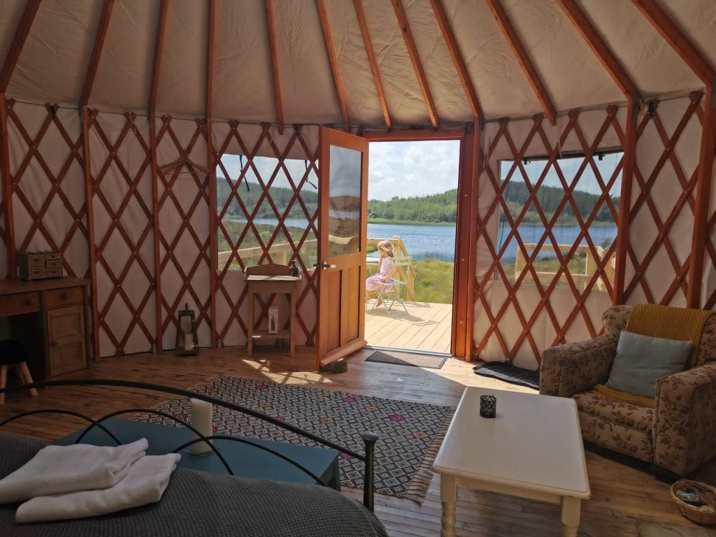 5 unique Airbnbs in County Donegal include Lough Mardal Lodge