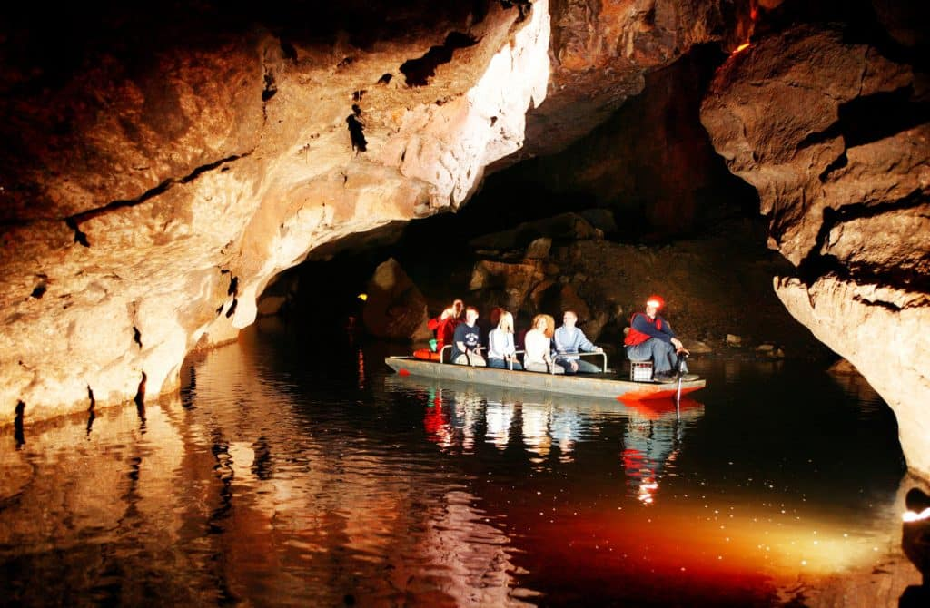 One of the best things to do in Fermanagh is the Marble Arch Caves.